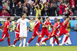 """FIFA PROSLAVILA MITROV GOL Napadač """"orlova"""" je pogodio mrežu Švajcaraca u petom minutu, a društvene mreže - EKSPLODIRALE /FOTO/"""