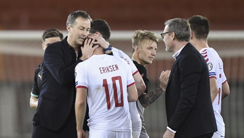 Kasper Hjulmand i duńscy piłkarze