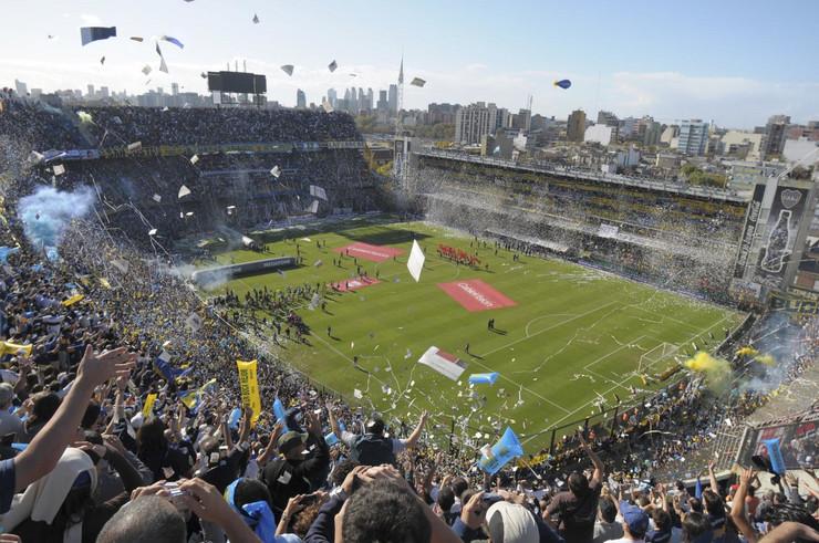 FK Boka Juniors stadion