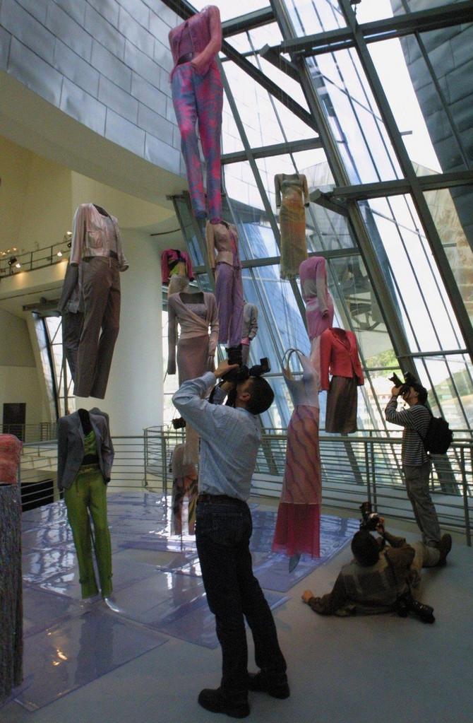 Izložba u muzeju Gugenhajm