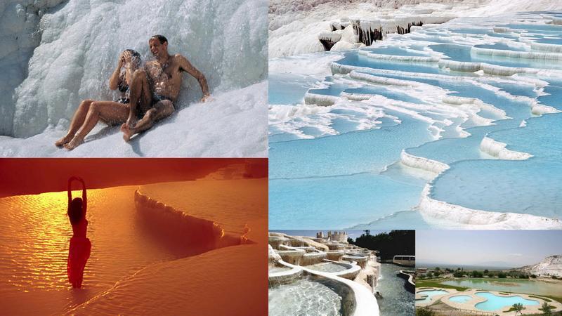 Najlepsze naturalne SPA na świecie - Pamukkale, Turcja