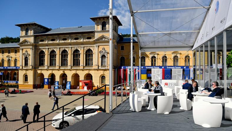 Uczestnicy XXIX Forum Ekonomicznego w Krynicy-Zdroju