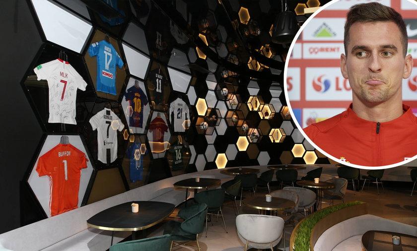 Arkadiusz Milik jest współwłaścicielem restauracji Food & Ball w Katowicach