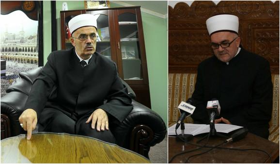 Adem Zilkić, reis Islamske zajednice Srbije i Mevlud Dudić, glavni muftija Islamske zajednice u Srbiji