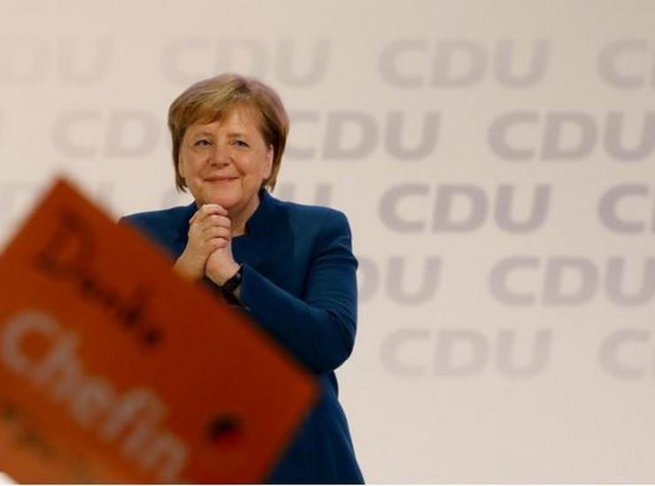 Angela Merkel EPA