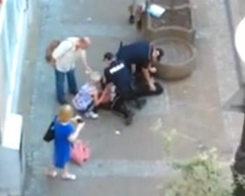 Interwencja policji w Bydgoszczy