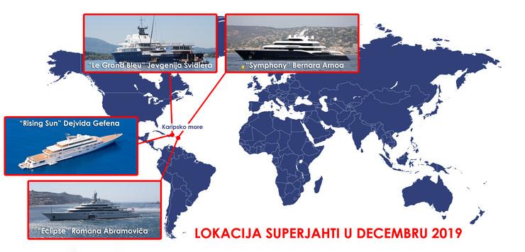 superjahte mapa foto RAS Profimedia shutterstock