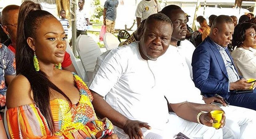 Akua Amoakowaa and husband Dr Kwaku Oteng