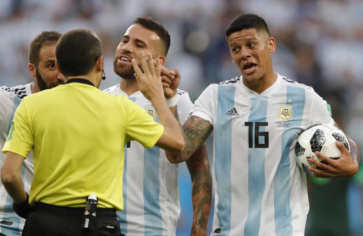 Fudbalska reprezentacija Nigerije, Fudbalska reprezentacija Argentine