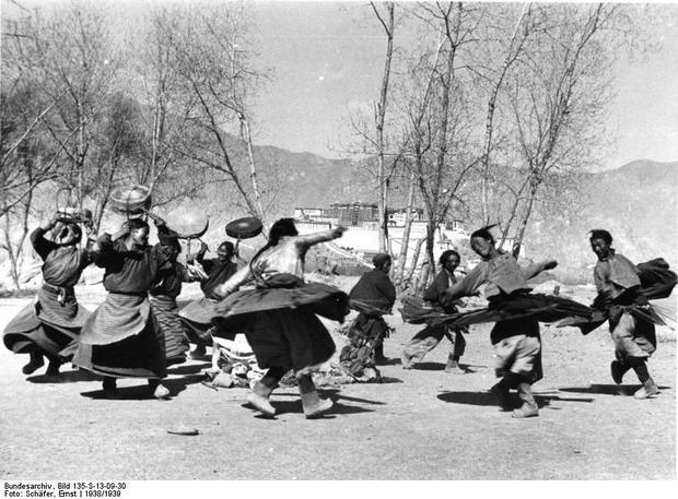 Tradycyjny taniec, Lhasa