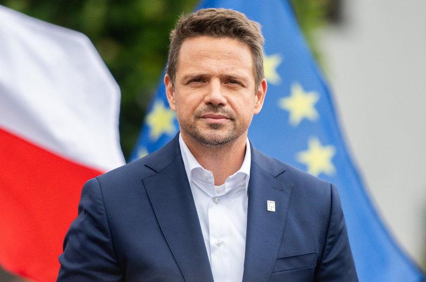 Rafał Trzaskowski zapowiedział, że nigdy nie ułaskawiłby pedofila