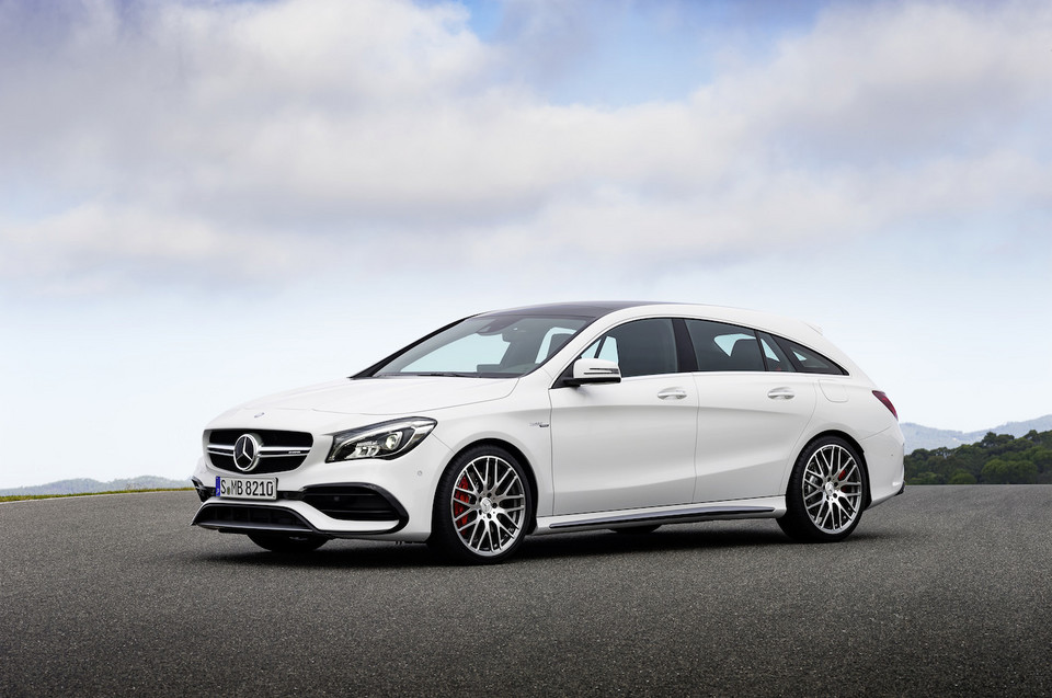 Mercedes-AMG CLA 45 Shooting Brake po liftingu