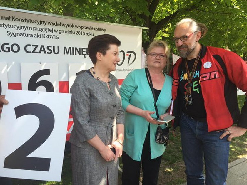 Siostra Pawłowicz z Hanną Gronkiewicz-Waltz