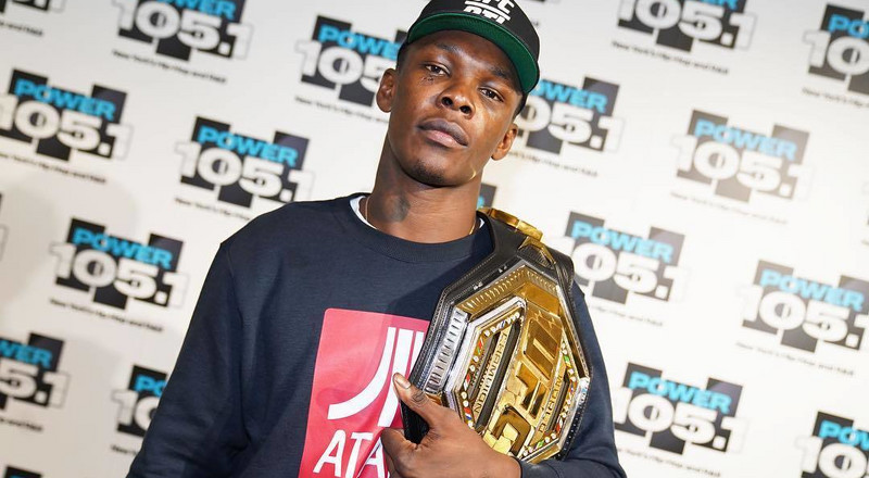 Nigerian-born New Zealand UFC fighter Israel Adesanya confirms on Breakfast Club that he's visiting Nigeria in May