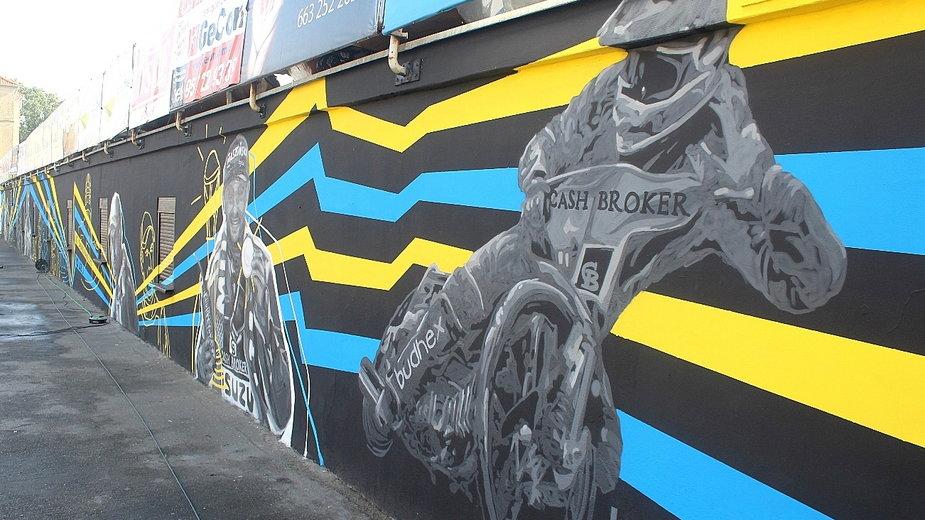 Mural w Gorzowie