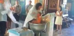 Koszmar podczas chrztu. Ksiądz prawie zabił dziecko