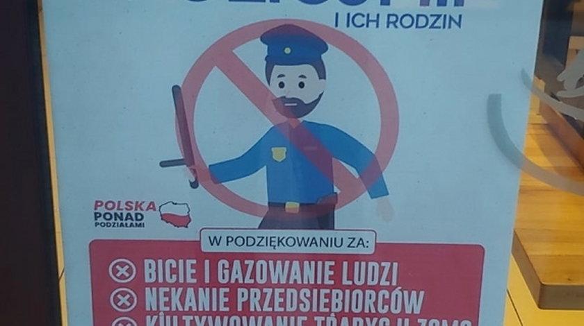 Toruń. Restauracja Byczy Burger nie obsługuje policjantów