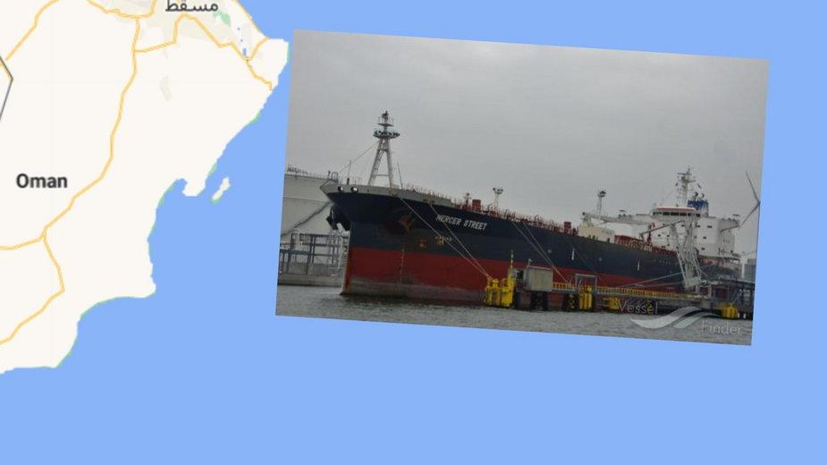 Atak na tankowiec u wybrzeży Omanu. Są ofiary