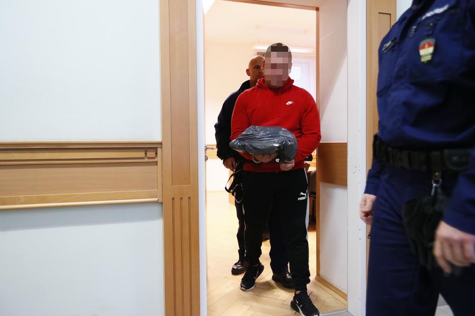 R. Dávidot letartóztatta a bíróság egyelőre 30 napra/Fotó:Fuszek Gábor
