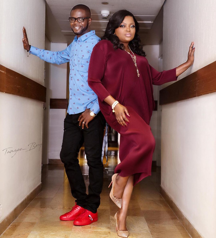 Funke Akindele and JJC Skillz need no introduction as they are one of the most powerful celebrity couples in town. [Instagram/FunkeJenifaAkindele]