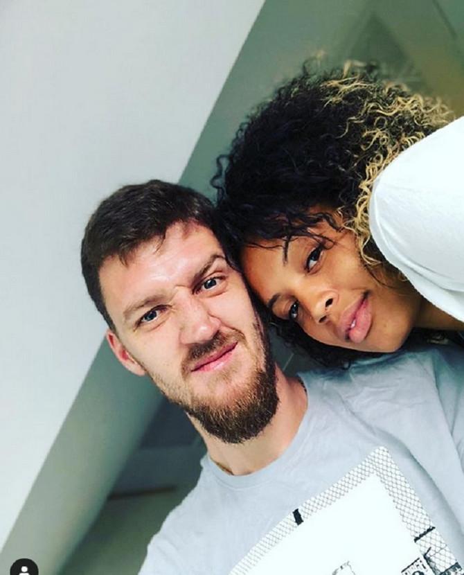 Ognjen Kuzmić sa suprugom Tomišom Romo