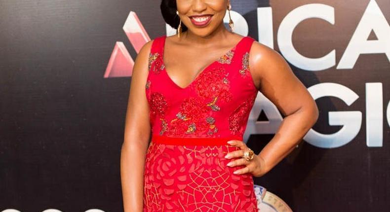 Rita Dominic at AMVCAs 2013