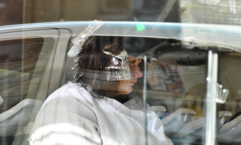 katarzyna niezgoda u fryzjera