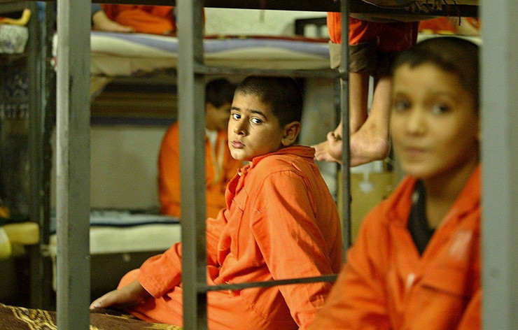 irak deca u zatvoru