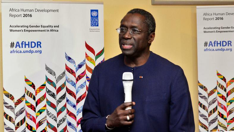 Abdoulaye Mar Dieye, United Nations Assistant Secretary-General, UNDP Assistant Administrator and Regional Director for Africa. (African Entrepreneur Startup Project)