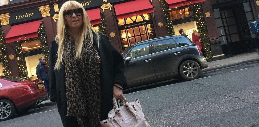 Maryla Rodowicz: Londyn jest teraz za drogi na zakupy