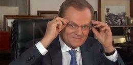 Donald Tusk w okularach! WIDEO