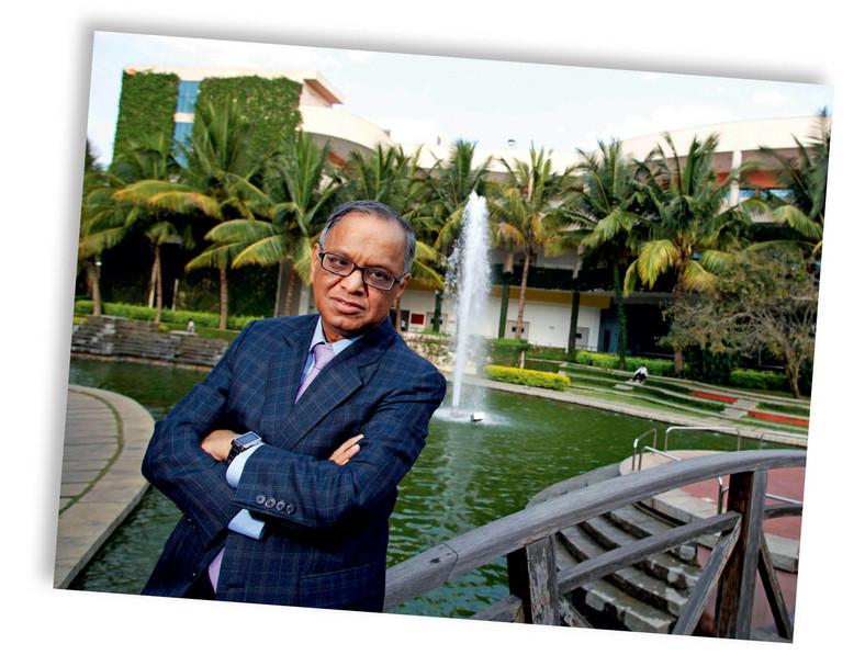 Narayana Murhy (fot. Namas Bhojani/Bloomberg)