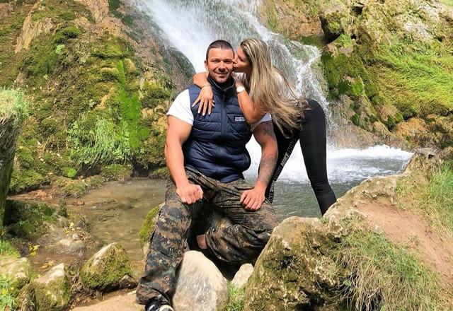 Strahinja Stojanović i Sonja Suarez
