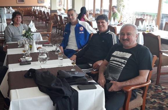 Zdravko Čolić, Žarko Varajić, Žarko Zečević i Branimir Babarogić