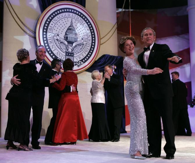 Lora Buš na balu nakon inauguracije