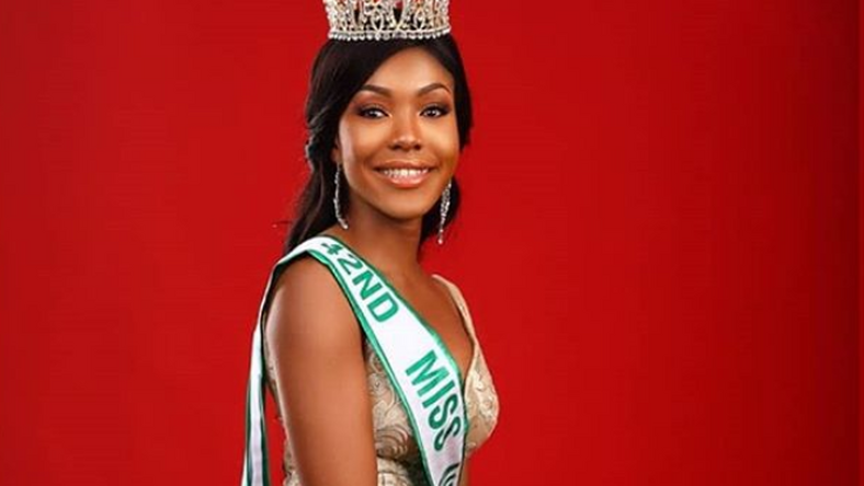 Introducing the beautiful Chidinma Aaron who is the 42nd Miss Nigeria
