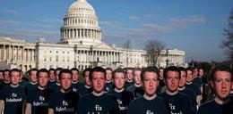 Kabaret na przesłuchaniu Zuckerberga