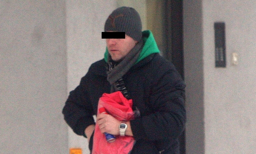 Mariusz M. miał ukraść z banku 87 tys. zł. W przeszłości był oskarżany o napad na stację benzynową.
