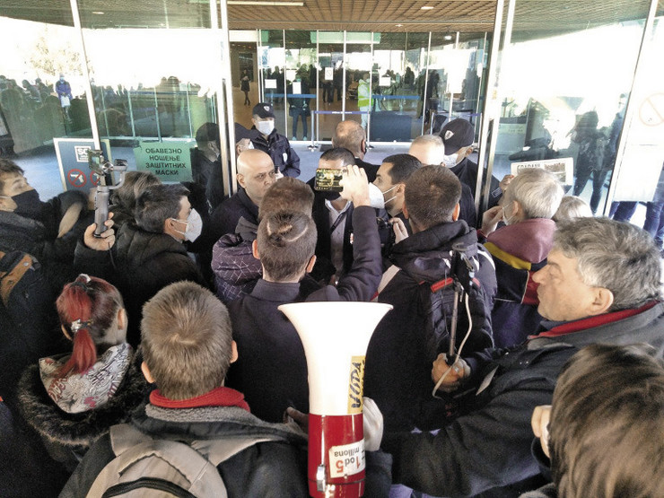 Protest: Građani ne žele Makiš-grad nego čistu vodu