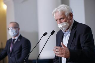 Prof. Horban: Nie będziemy mieli odporności populacyjnej, nie ma szans na to