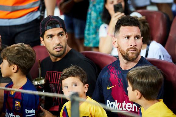 Lionel Mesi i Luis Suarez