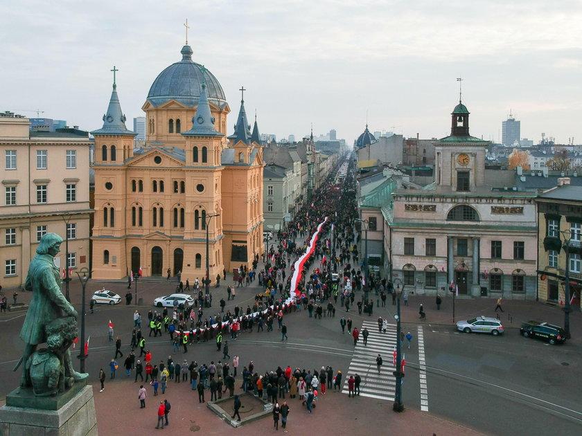 Święto Niepodległości w Łodzi