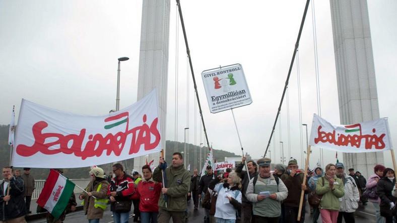 Protesty na Węgrzech. Niezadowolenie z rządów premiera Orbana