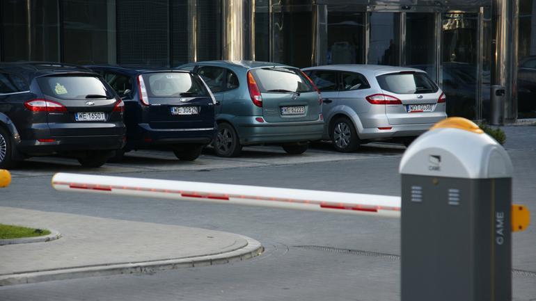 Prywatny parking