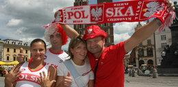 Kibice świętują w Krakowie