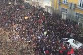 albanija; studentski protesti;