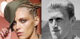 Anja Rubik i Jacek Gmoch. Ależ oni są podobni!