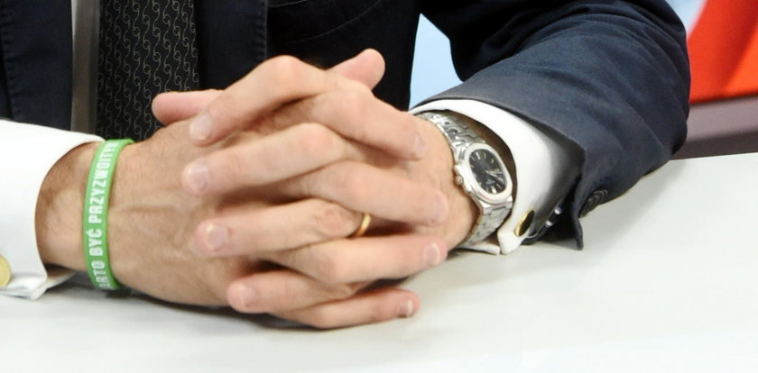 Poseł PSL ma zegarek wart 40 tys. zł!