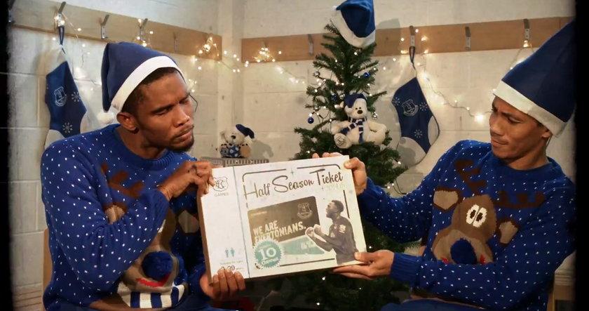 Zabawna reklama świąteczna klubu!