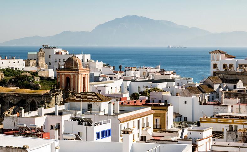 Rzut oka z Gibraltaru na Afrykę